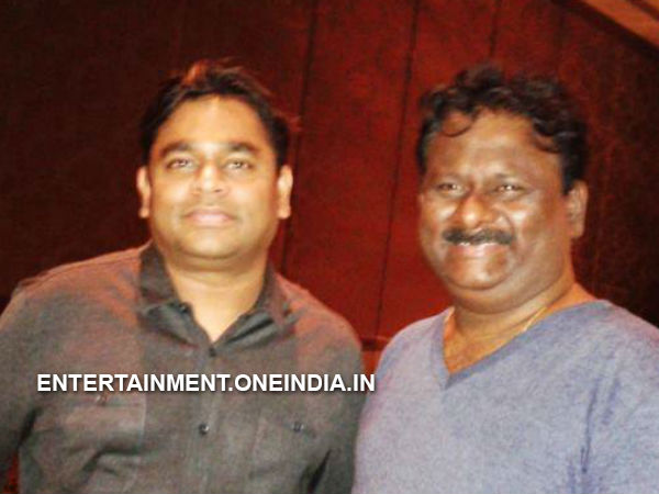 AR Rahman At The Kochadaiiyaan Party