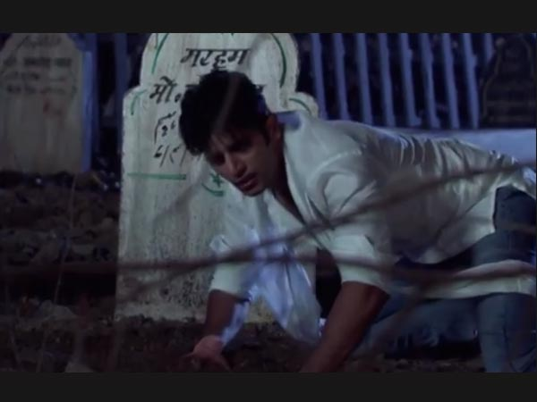 Aahil Digs The Ground!