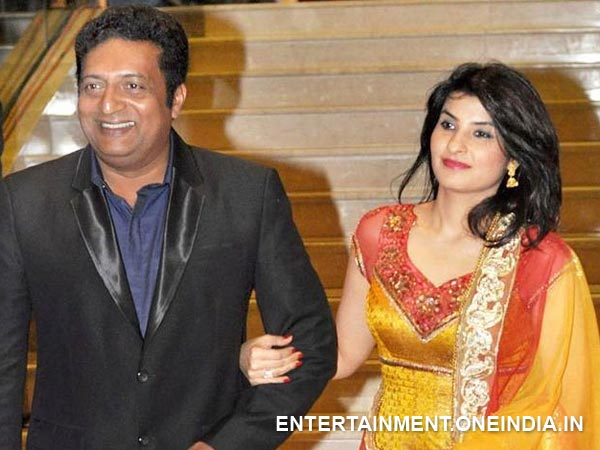 Prakash Raj Married Twice