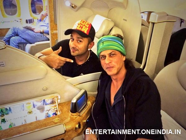 shahrukh Khan and Honey Singh