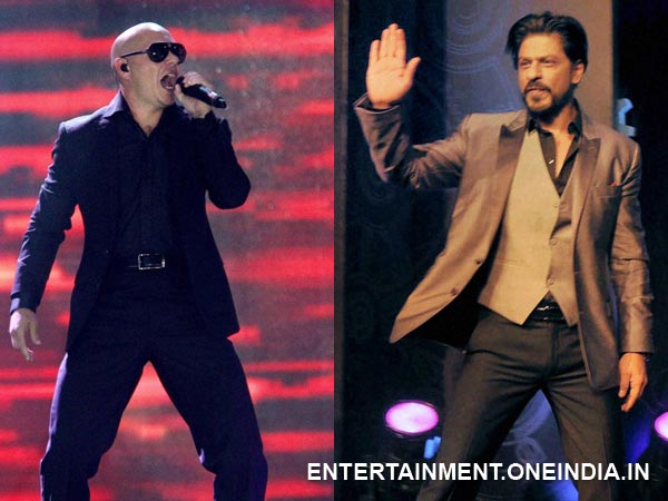 Shahrukh Khan and Pitbull
