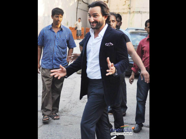 Saif In Comedy Role
