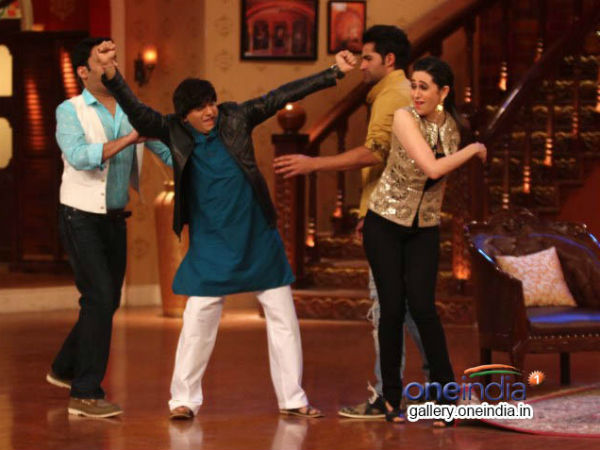 Karisma, Armaan And Kapil On Comedy Nights With Kapil