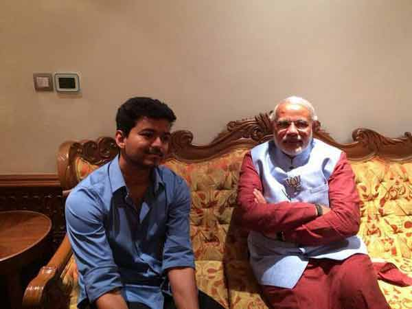 Vijay Writes A Letter To Modi, Makes A Request!