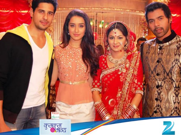 Siddharth And Shraddha With Abhi And Pragya