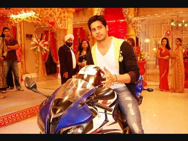 Siddharth's Grand Entrance