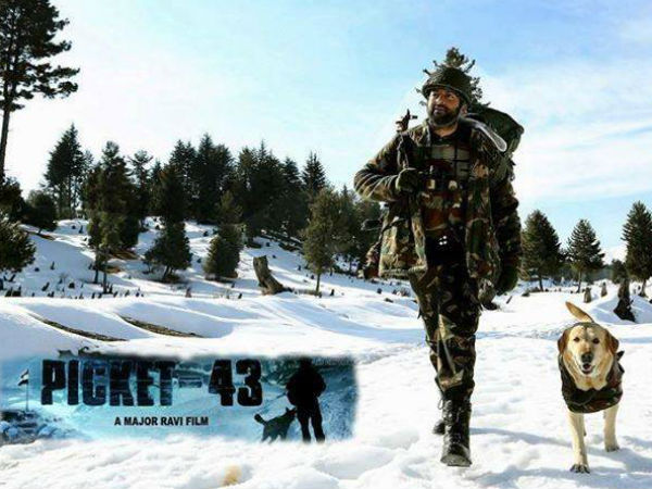 Prithviraj As A Soldier In Picket 43