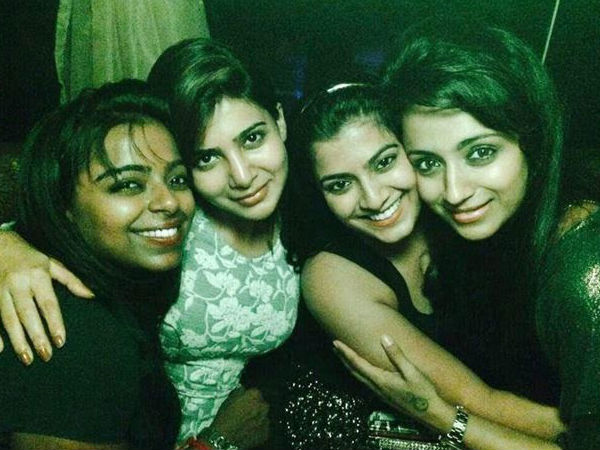 Samantha, Varu & Trisha Party