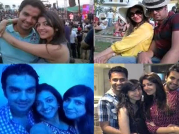 Kajal's Pictures With Boyfriend Leaked