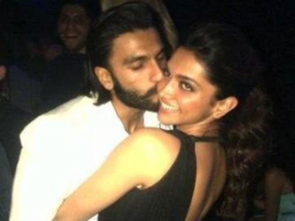 Deepika Caught Being Kissed In Public