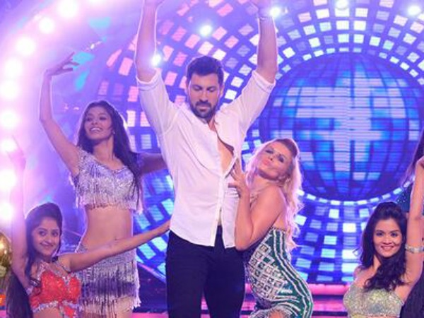 Maksim Rocks The Stage