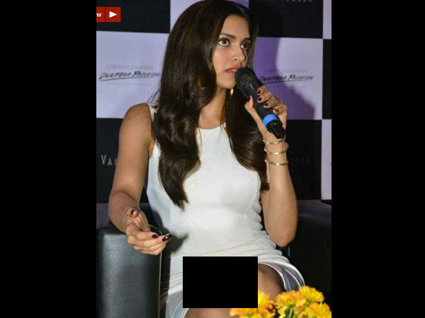 Deepika Padukone's Shows Off Her Innerwear