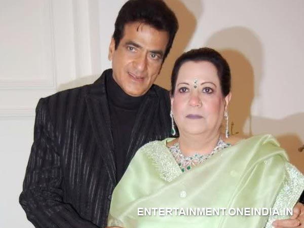 Jeetendra and Shobha Kapoor
