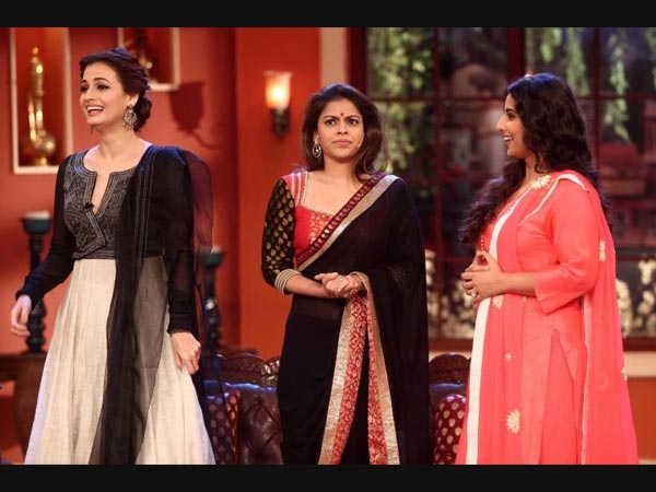 Mrs Bittu Of Comedy Nights With Kapil