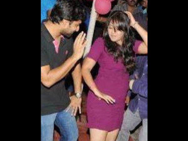 Anjali's Private Bash Pics