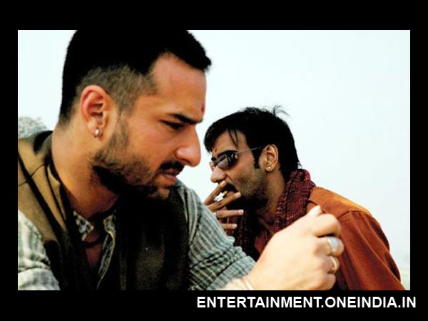 Saif Ali Khan as Langda Tyagi in Omkara