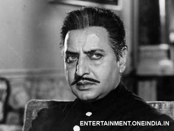 Pran as Gajendra in Ram Aur Shyam
