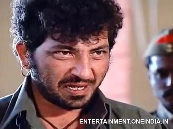 Amjad Khan as Gabbar Singh in Sholay