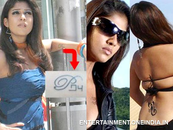 Hot Tamil Actresses And Their Tattoos - Filmibeat