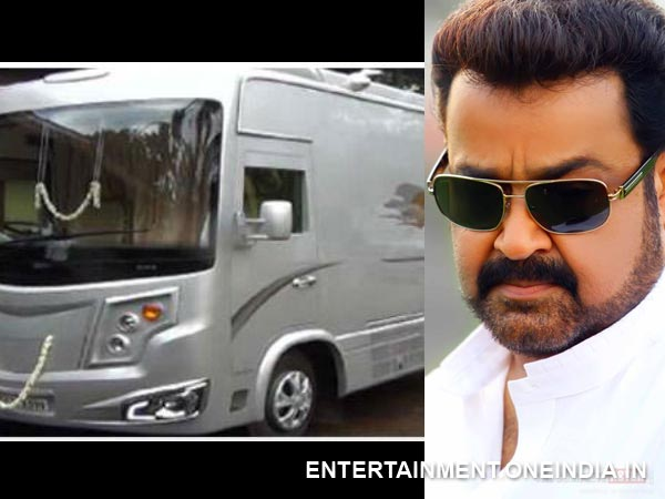 Pic: Mohanlal And His New Caravan!