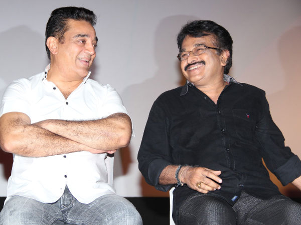 Kamal Hassan With Keyyar