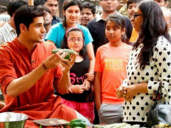 Sidharth Malhotra Low On Veggie IQ!