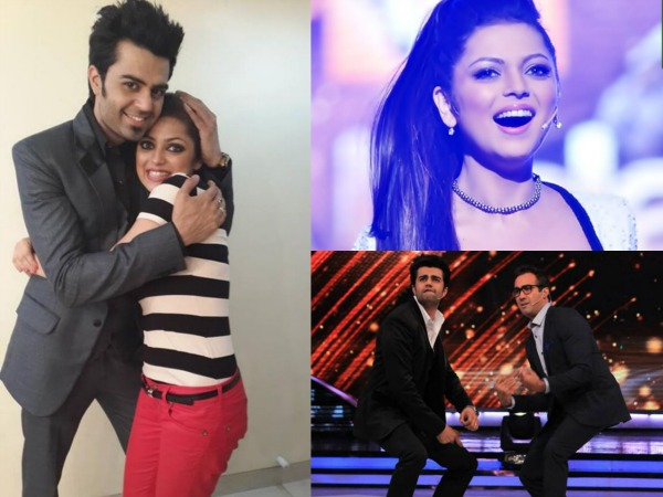 Manish Paul And Drashti Dhami
