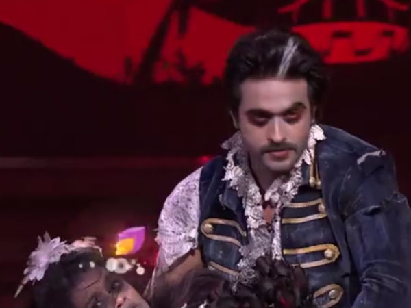 Ashish Turns Vampire!