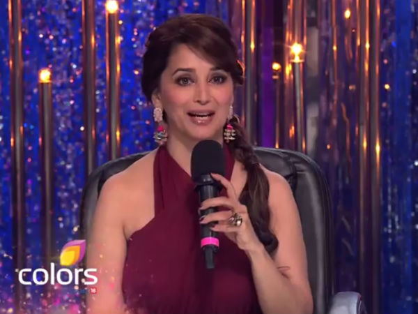 Madhuri Joins In The Vampire Party?