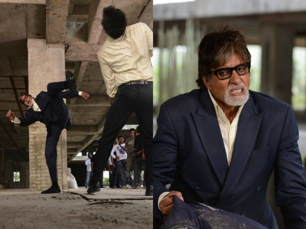 Body Aches At All Quarters: Amitabh Bachchan After Yudh's Action Scenes!