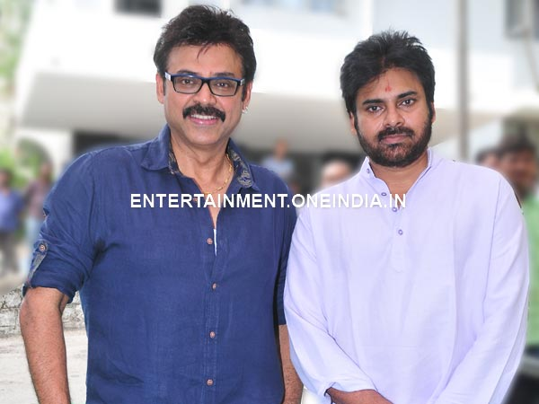 Venkatesh Excited To Work With Pawan Kalyan