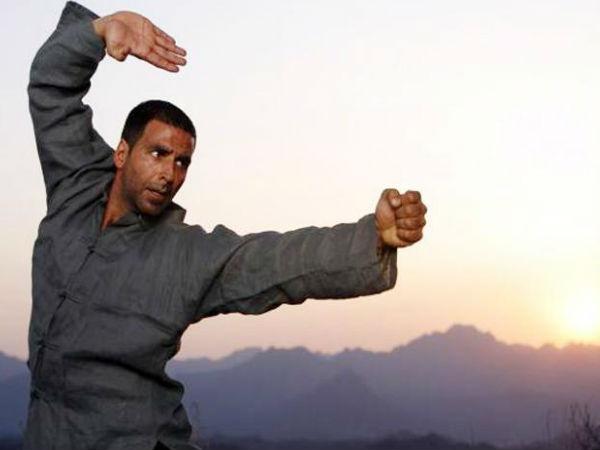 bollywood actors who know martial arts akshay kumar