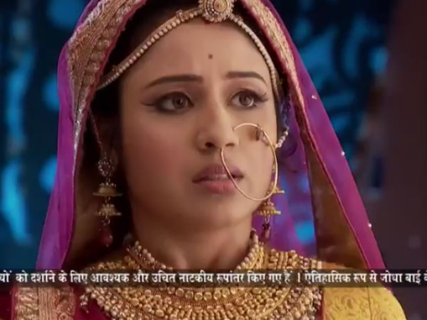 Jodha Exercises Caution