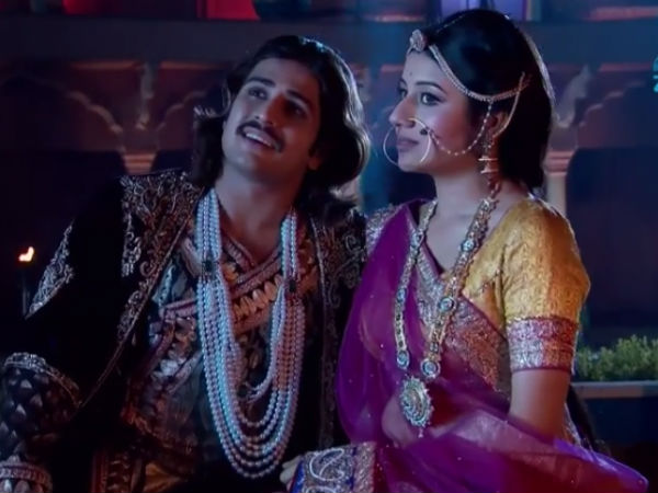 Jalal In Romantic Mood