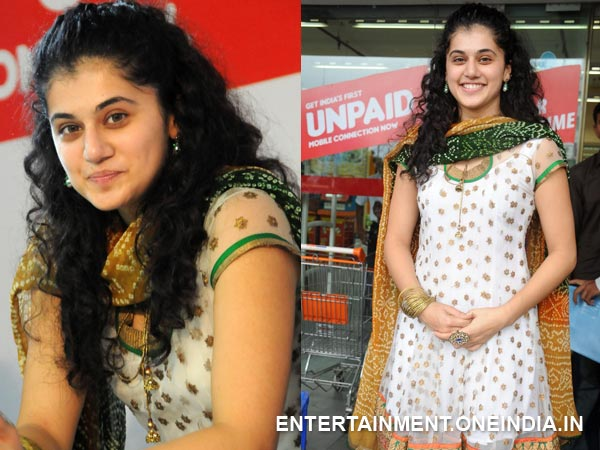 Taapsee Without Makeup