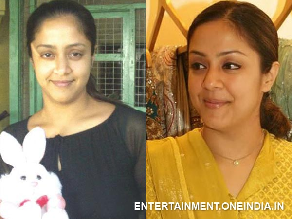Jyothika Without Makeup