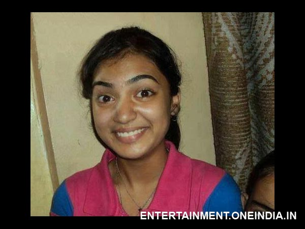 Nazriya Nazim Without Makeup
