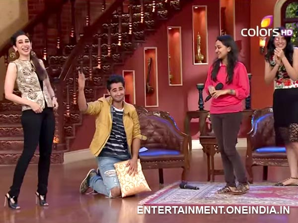 Oops: Armaan Jain Ripped His Pants On Comedy Nights With Kapil