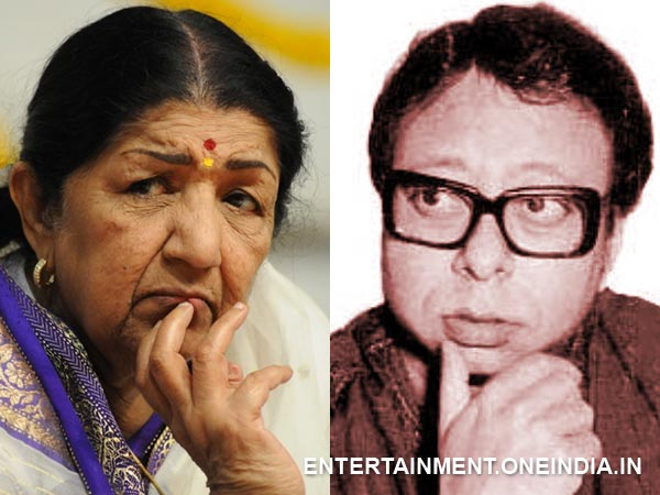 Lata Mangeshkar and R D Burman