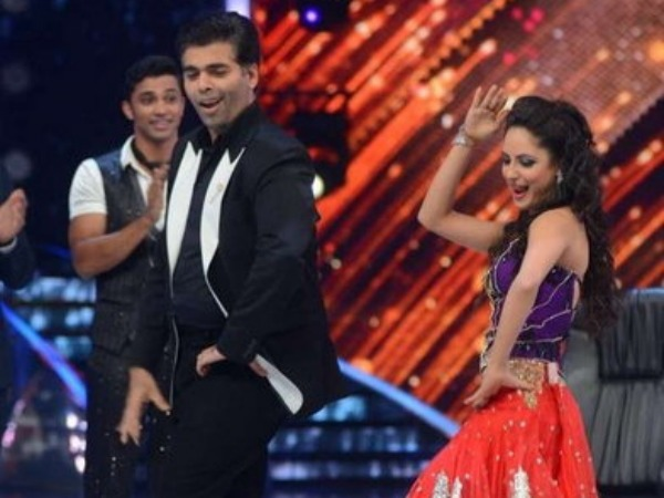 Karan Johar And Pooja Banerjee