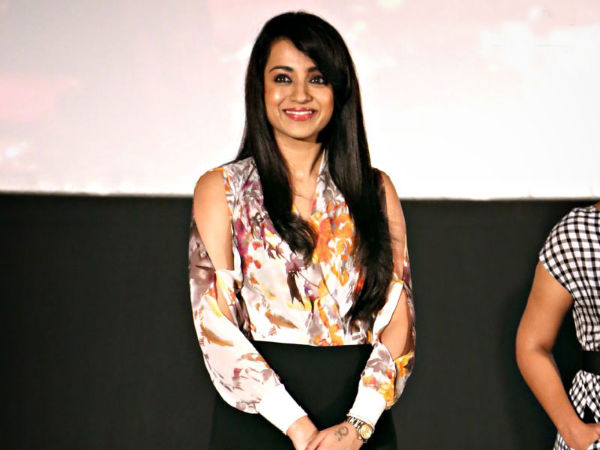 Trisha At Amara Kaaviyam Audio Release