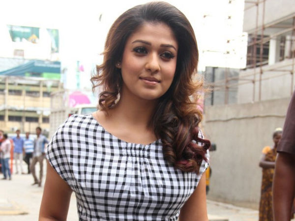 Nayantara Arrives To The Venue