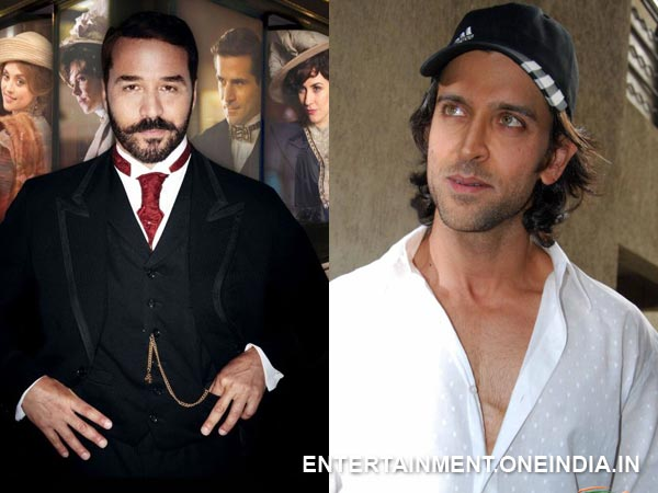 Hrithik Roshan and Jeremy Piven