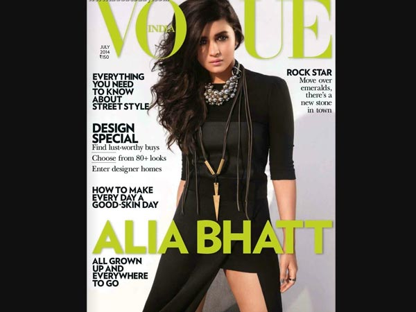 Alia On Vogue Cover