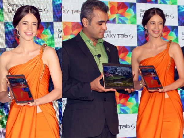 Kalki Koechlin Launches Samsung Galaxy Tab S