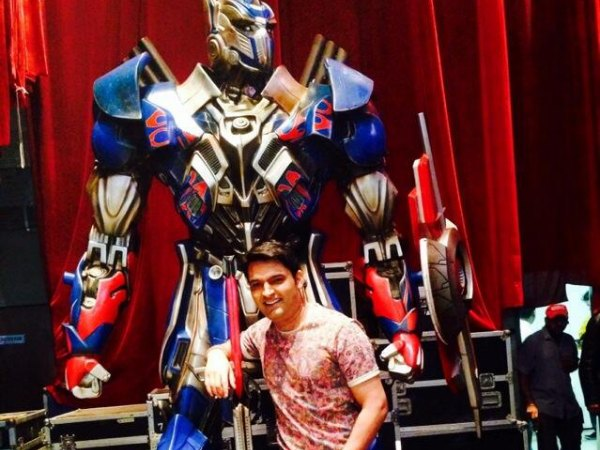 Feel Proud Transformers Promote Film On Comedy Nights...: Kapil Sharma