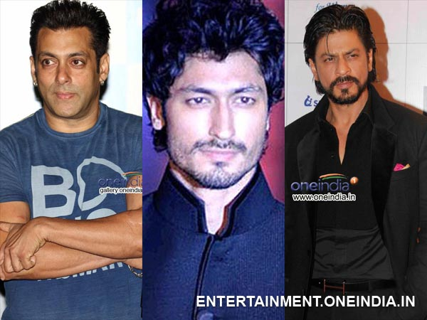 Salman Khan Vidyut Jamwal and Shahrukh Khan