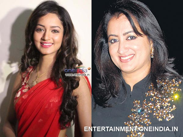 Shanvi Learns Acting Nuances From Sumalatha