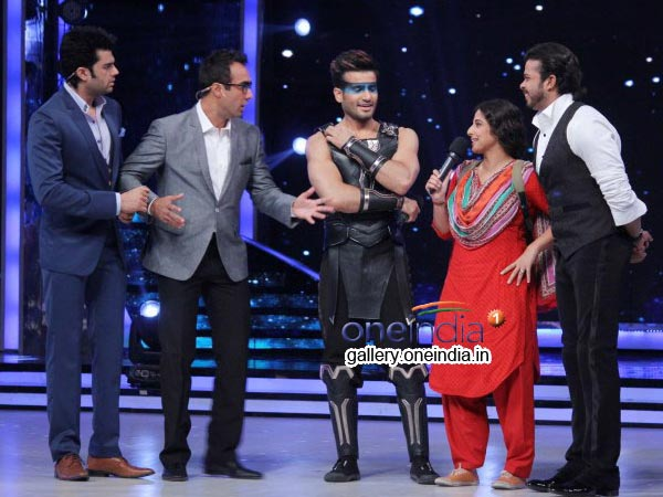 Vidya With Karan Tacker And Srisanth