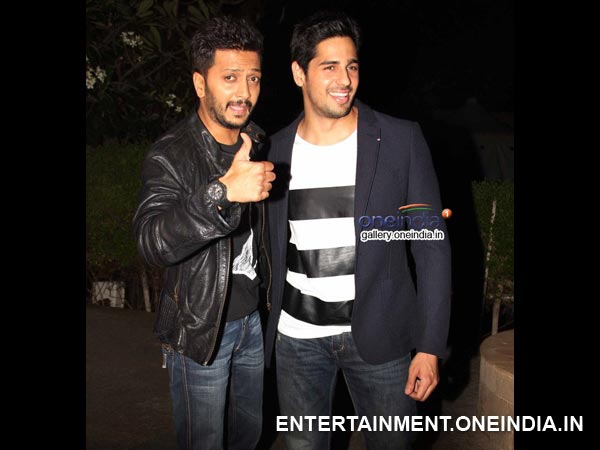 Sidharth And Riteish